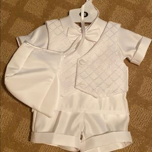 Baby boy Christening suit 3-6 months